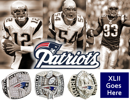 New England Patriots, Superbowl XLII