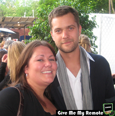 Joshua Jackson (FRINGE) and me at the Fox Upfronts 2008