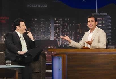 Steve Carell Interviews Jimmy Kimmel