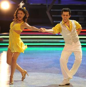 Courtney Galiano and Gev Manoukian