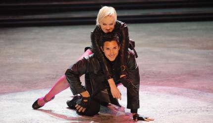 Kourtni Lind and Matt Dorame