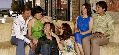 The cast of SWINGTOWN
