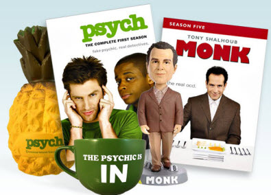 Enter to Win a PSYCH/MONK Prize Pack