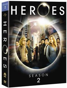HEROES Season 2 DVD Giveaway