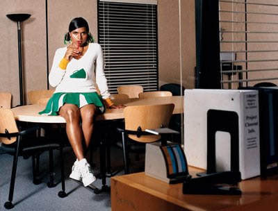 Mindy Kaling, The Office, Blog