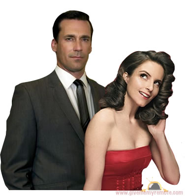 Jon Hamm (Mad Men) to Guest on 30 ROCK with Tina Fey