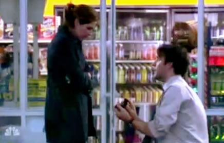 Jim and Pam, proposal, engaged, THE OFFICE
