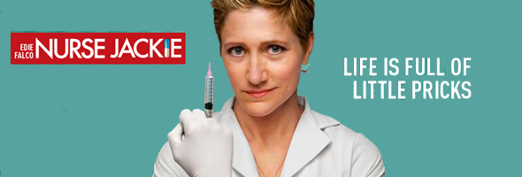 Edie Falco stars in NURSE JACKIE on Showtime