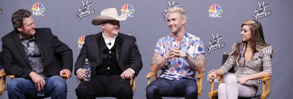 the voice finale adam and blake featured