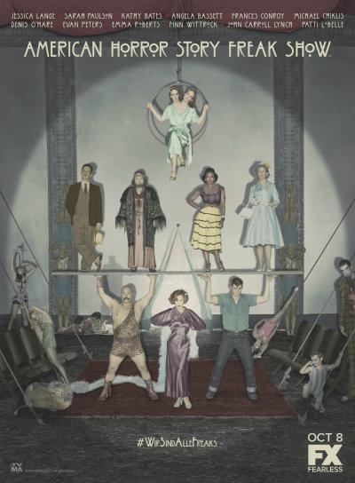 AHS Freak Show Cast Art-