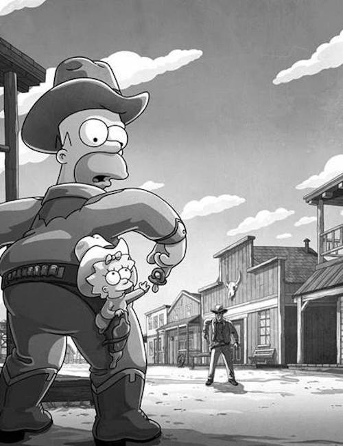 The Simpsons Gunsmoke