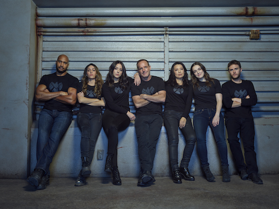 AGENTS OF SHIELD renewed