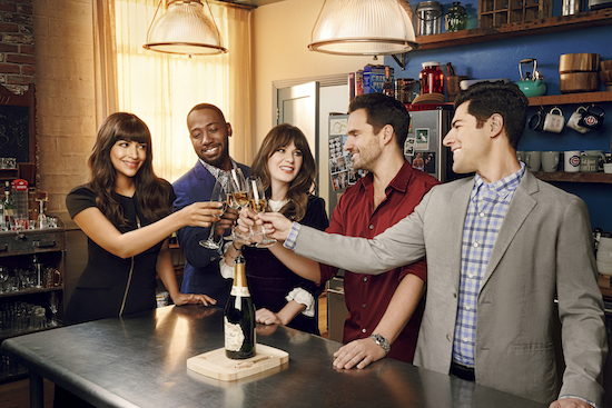 Hoops New Girl reunion