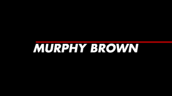Murphy Brown on CBS