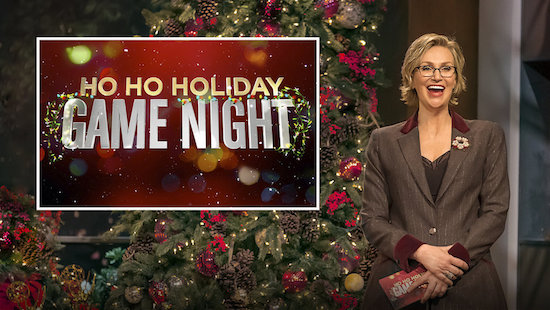 Holiday Hollywood Game Night