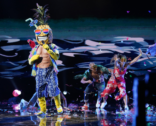 The Masked Singer Pineapple