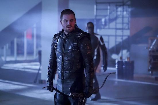 arrow series finale final scene