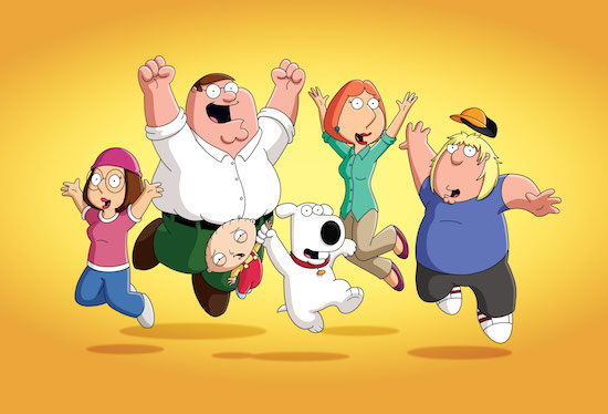 Family Guy Surfin Bird