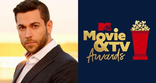 Zachary Levi MTV MOVIE & TV AWARDS