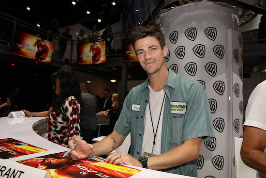 Grant Gustin Brandon Routh Superman