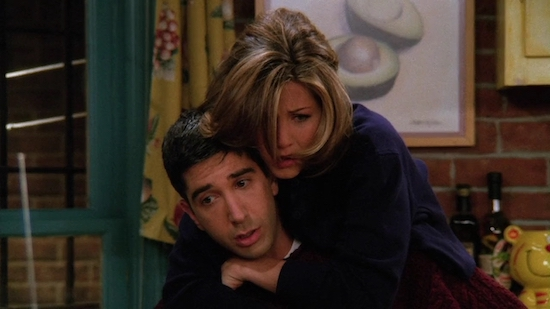 Friends TOW Ross Finds Out