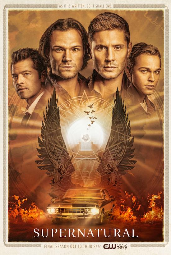 Supernatural final season poster