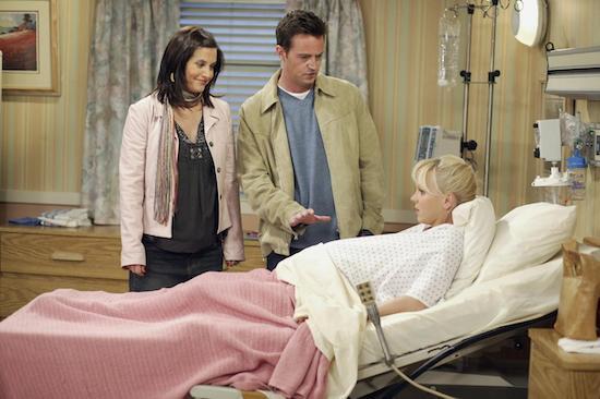 Friends Monica Chandler Fertility Struggles