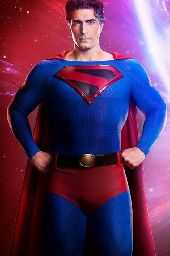 Brandon Routh Superman Crisis