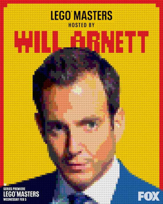 LEGO Masters Will Arnett