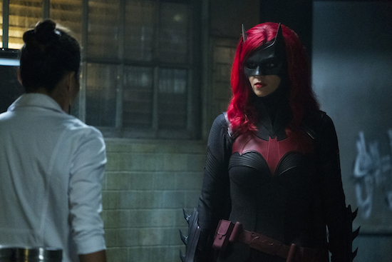 Ruby Rose BATWOMAN  exit