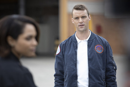 Chicago Fire Dawsey reunion