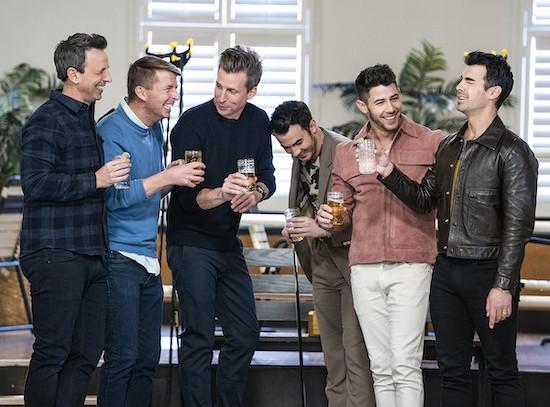 Seth Meyers Jonas Brothers Day Drinking