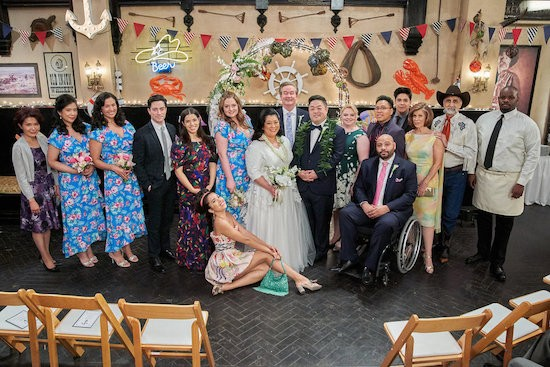 SUPERSTORE: 'Sandra's Wedding' Photos
