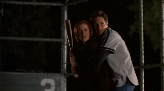 Mulder Scully Baseball