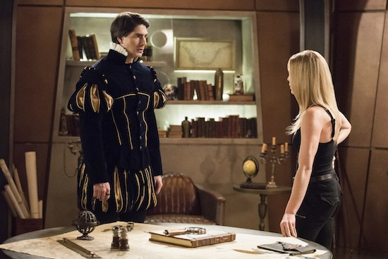 Legends of Tomorrow Brandon Routh Exit Courtney Ford