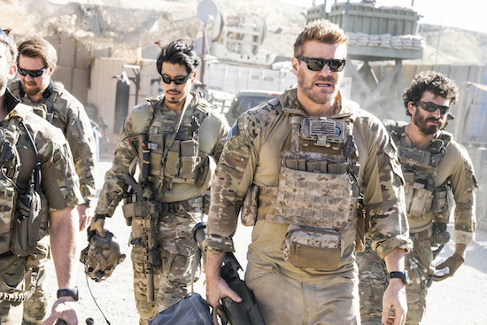 SEAL TEAM: 'In The Blind' Photos