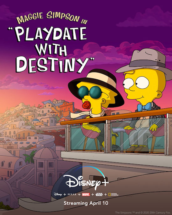 THE SIMPSONS Short PLAYDATE WITH DESTINY