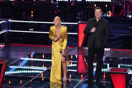 About Last Night...THE VOICE