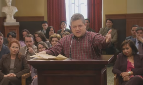 Patton Oswalt Parks and Rec Filibuster