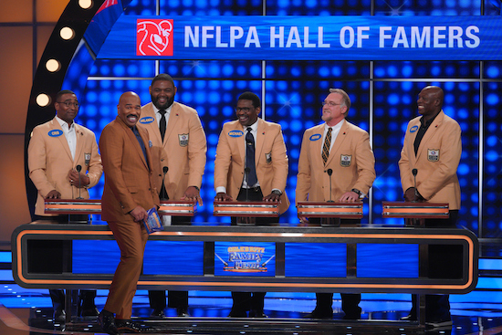 CELEBRITY FAMILY FEUD, PRESS YOUR LUCK, and LITTLE VOICE
