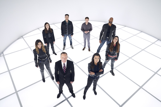 Agents of SHIELD series finale table read