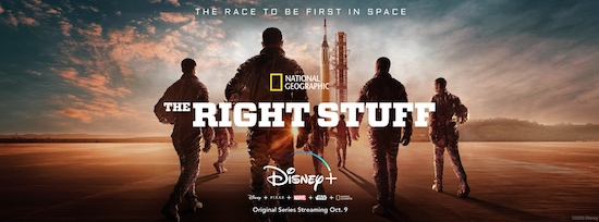 The Right Stuff premiere