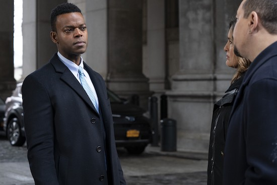 LAW & ORDER: SPECIAL VICTIMS UNIT Demore Barnes season 22