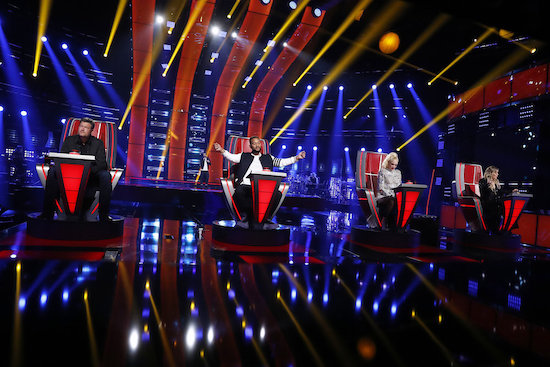 THE VOICE, BIG BROTHER, and WEAKEST LINK