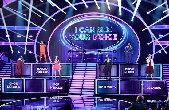 THE MASKED SINGER, THE GOLDBERGS, I CAN SEE YOUR VOICE