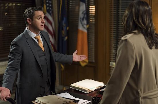 SVU season 22 Barba return