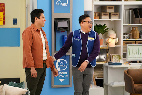 Superstore Nico Santos season 6 interview