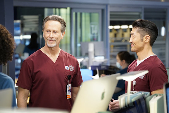 CHICAGO MED Ethan Dean Tension