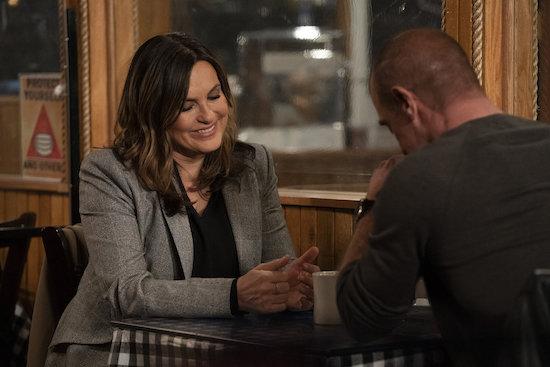 SVU Benson Stabler cut Diner scene