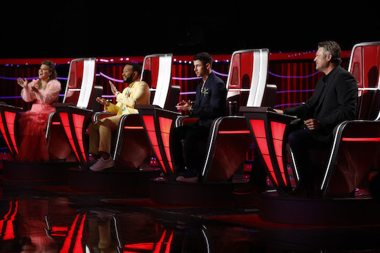The Voice top 17